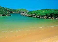 Playa de Poo en Llanes, Spain