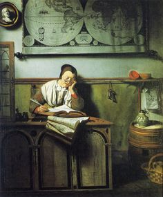 Nicolaes Maes - The Account Keeper