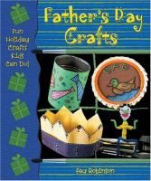 """""""Father's Day is here! Let Dad relax for the day and show him just how special he really is. Using these step-by-step directions and traceable patterns, readers can make a desk pal to keep him company at work, a picture frame, a coffee cup coaster, and more!"""""""