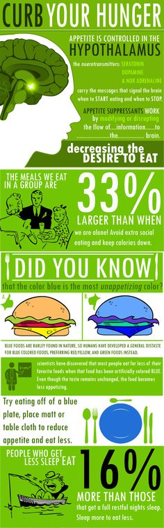 Curb Your Hunger Infographic