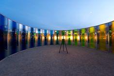 olafur eliasson raises colorful pavilion at des moines art center