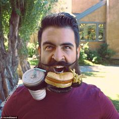 Mr Incredibeard the man with world's most fantastical facial hair