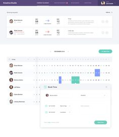 Dribbble - company_calendar.jpg by Kreativa Studio
