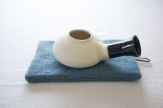 草木染めの鍋敷き