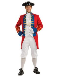 Adult Regency Collection British Redcoat Costume
