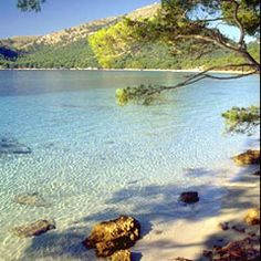 Formentor beach Mallorca - lovely spot with restaurant  bar on the beach