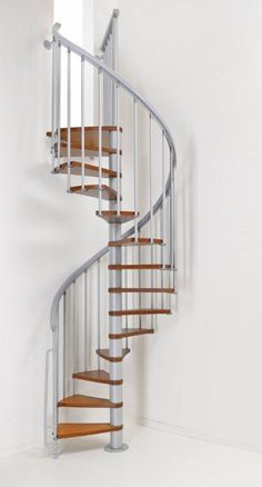 Fontanot Ago Spiral Stair Kit (Blond Walnut Tread Shade) # From £900.00 + VAT