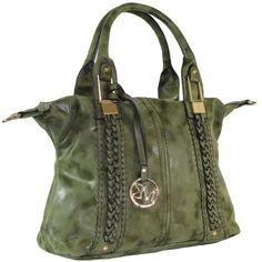 Michael Michelle 'Lola' Medium Vegan Leather Tote Handbag