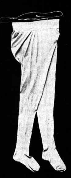 Englische Herrenstrumpfhose um 1795