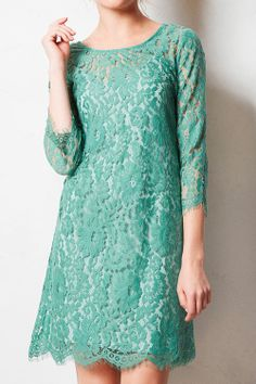 a3e2aa945c8 Love the texture of the this lace dress. The color