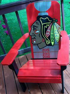 Chicago Blackhawks Stanley Cup Adirondack Chair!!!!!!