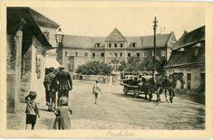 r.  1973, Železničná stanica Bratislava - Filiálka Bratislava, Old Town, Statues, Milan, Street View, Travel, Painting, Times, Postcards