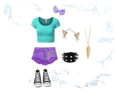 """""""Summer outfit ☺"""" by mbrazdova ❤ liked on Polyvore featuring J.TOMSON, Converse, ZoÃ« Chicco and Michael Kors"""