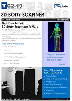 9 Best 3D Body Scanning images in 2016   Body measurements