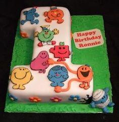 Birthday Cake: 1st Birthday Cake