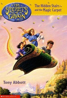 First 40 books of The Secrets of Droon series in order. E is hooked on this series...