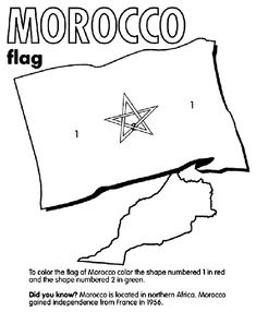 Japan 6 coloring pages coloring book elementary for Moroccan coloring pages