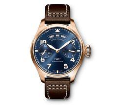 c5da6dba277 IWC  NEW  Big Pilot Midnight Blue Dial Automatic Mens IW502701 (Retail HK