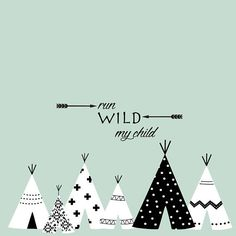 Teepee Nursery, Nursery Room Decor, Nursery Wall Decals, Baby Girl Shower Themes, Baby Boy Rooms, Letter Wall Art, Baby Bathroom, Room Stickers, Tribal Decor