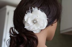 A personal favorite from my Etsy shop https://www.etsy.com/listing/229253515/bridal-hair-accessory-wedding-hair