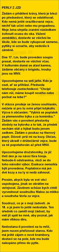 PERLY Z JZD | torpeda.cz - vtipné obrázky, vtipy a videa Scorpio Zodiac Facts, Sheet Music, Jokes, Funny, Pictures, Straws, Husky Jokes, Animal Jokes, Funny Jokes