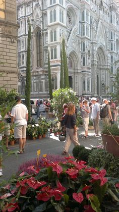 Florence, Italy ~such a wonderful city to visit. Fabulous food, wine, art, history and people.