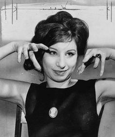 11. Barbra Streisand's pose.