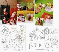 """FELTRO MOLDES ARTESANATO EM GERAL: Feliz Natal!!!!! E proponho que deixemos as saudades, as lembranças, as tristezas de lado, e nos concentremos neste Natal. No """"Natal de 2013"""". Que ele seja o melhor que puder ser!"""