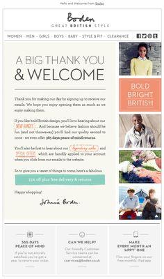 #Boden #EmailDesign #WelcomeEmail Newsletter Layout, Email Layout, Email Newsletter Design, Email Newsletters, Newsletter Ideas, Bio Cosmetics, Marketing Letters, Email Marketing Design, Marketing Digital