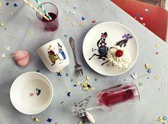 Køb By MIMI'S CIRCUS: Cirkus stel i keramik - 4 x kopper ) her - Mimi´s Circus