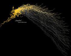 Visualization of music using processing. There's a link up in the corner to the actual java applet.
