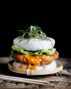 """Sushi Burger"" Food Trend Is Now the Hottest Hybrid of Two Foodie Favorites - My…"