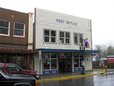 Juneau Alaska Post Office, Front Street from Jasperdo Juneau Alaska, Post Office, Offices, Street, Places, Sexy, Outdoor Decor, Clothes, Outfits