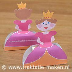Afbeelding van de traktatie Prinsesje met rozijnen http://www.traktatie-maken.nl/traktatie/Prinsesje-met-rozijnen