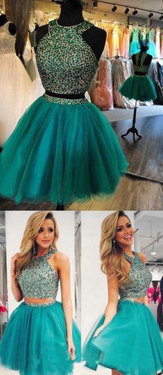 a45af682 Green Homecoming Dress,Chiffon Homecoming Dresses,Chiffon Homecoming Dress,Backless  Party Dress,