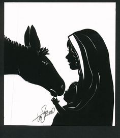 Humble Beginnings. Cut paper silhouette by Tim Arnold