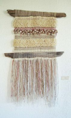 Murales — Marianne Werkmeister Weaving Art, Tapestry Weaving, Loom Weaving, Diy Home Furniture, Creative Textiles, Wall Hanger, Hangers, Woven Wall Hanging, Textile Art