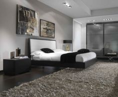 Black and White Bedroom Furniture