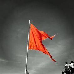 Image result for maratha flag