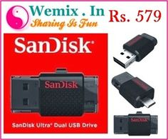 Sandisk Ultra Dual 16 GB Pendrive Rs. 579 Usb Drive, Usb Flash Drive, Memory Storage, Fun, Hilarious