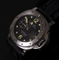 Panerai Luminor Wrist Watch for Men for sale online Panerai Luminor Submersible, Rolex Watches, Smart Watch, Mint, Ebay, Accessories, Smartwatch, Peppermint, Jewelry Accessories