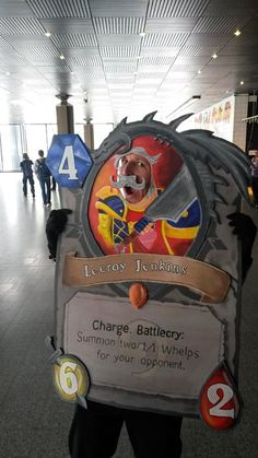 Amazing Hearthstone Cosplay