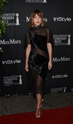 All the Red Carpet Photos From TIFF 2015, Updated Daily! - Dakota Johnson in Christopher Kane