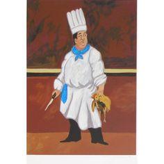 Waiter (4 0f 4) by Guy Buffet