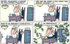 Charge do Lute sobre Eduardo Cunha (10/06/2016). #Charge #Cunha #PMDB #HojeEmDia