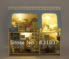 68.39$  Watch now - http://alijad.shopchina.info/go.php?t=1664550485 - Diy Doll house Rocky home dollhouse Christmas gift Mini toy scene  #shopstyle