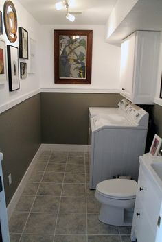 Chris Loves Julia: Laundry Room/Half Bath Before and Afters