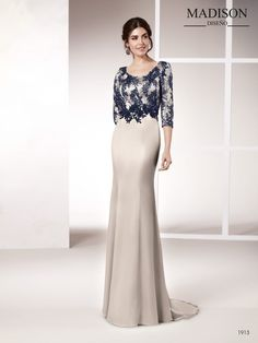 Vestido con tejido triacetato acompañado de un tul bordado Evening Dresses, Formal Dresses, Wedding Dresses, Recital, Kebaya, I Dress, Gowns, My Style, Color