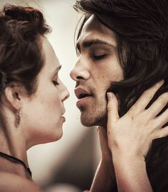 Constance and D' Artagnan from BBC's Musketeers! These two are made for each other!
