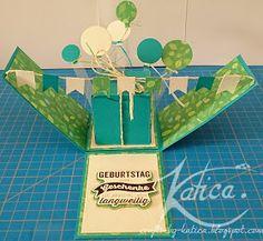Crafts by Katica.: Tutorial für die Explosion Box